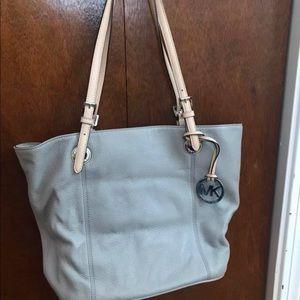 Michael Kors Gray Shoulder Bag
